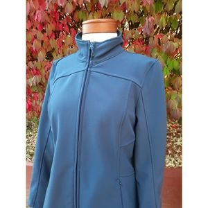 L.L. Bean Longline Softshell Jacket Coat Fall